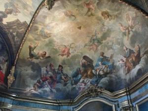 Carmelite chapel ceiling fresco