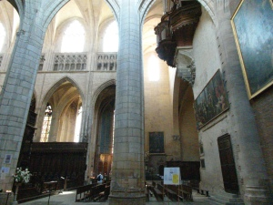 Side chapel of St. Etienne