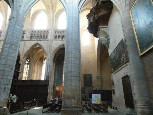 Side chapel of St. Etienne