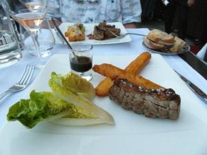 Broiled lamb /w dauphine potato
