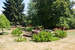Gardens of Pazo de Andeade