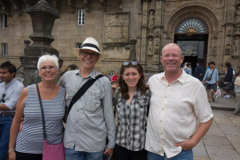 Rick & I with Jason & Kate