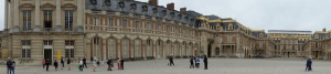 Versailles: one cannot capture the entirety of it with one shot.