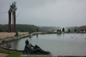 The top Garden of Versailles