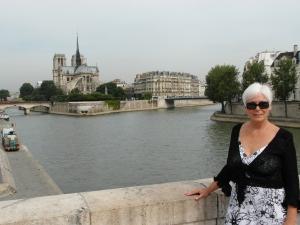 Along the Quai beside Notre Dame