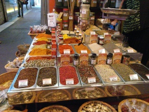 The spice table: memories of Tunisia