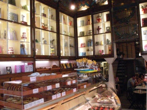 The chocolate store