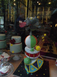 The cake store... notice Dumbo on top
