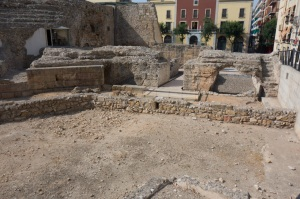 Some of the Roman ruins