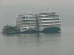 Docked along the Yangtze