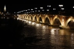Bridge across the Garonne