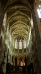 Inside cathedrals