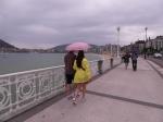 Sea front promenade
